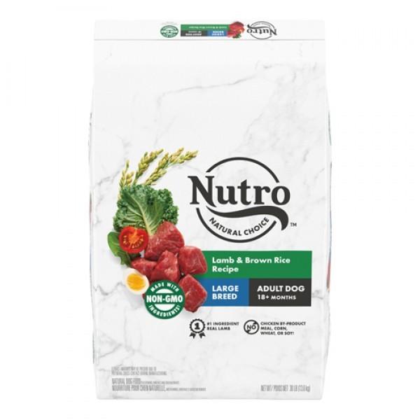 Nutro美士全護營養大型成犬配方(牧場小羊+糙米)30磅
