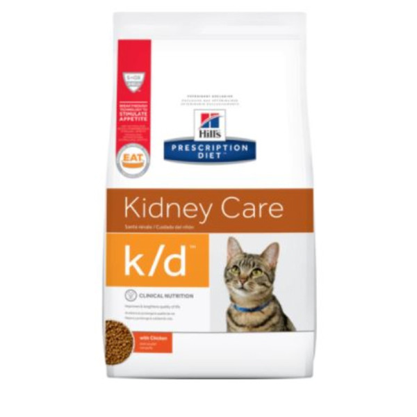 【即期促銷】Hill's 希爾思  貓處方k/d腎臟護理(8.5磅)