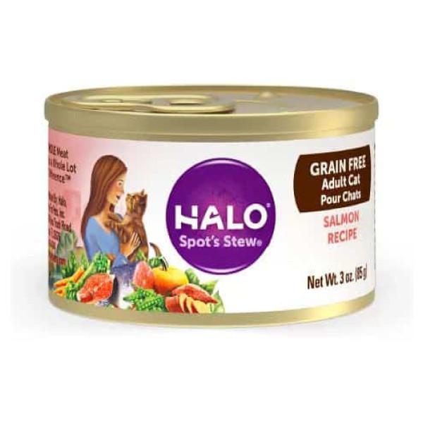 【HALO 嘿囉】成貓無穀主食罐85g-(雞肉/鮭魚)