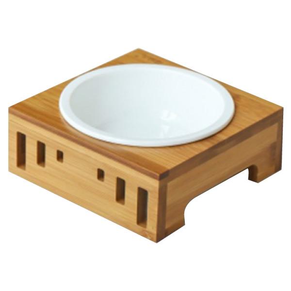 【喵仙兒】竹木簡約陶瓷碗(單碗組) 15.5*5.5cm
