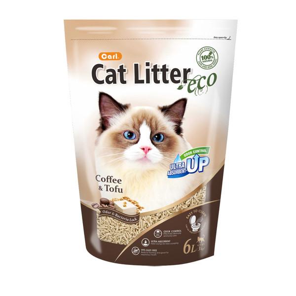 卡爾貓砂-咖啡