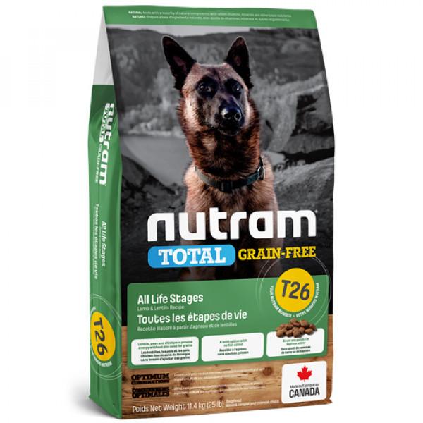 【紐頓nutram】T26無榖潔牙全齡犬(低敏羊肉)11.4KG