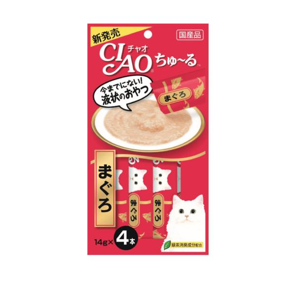 CIAO啾嚕肉泥鮪魚14g-4p_4901133716577